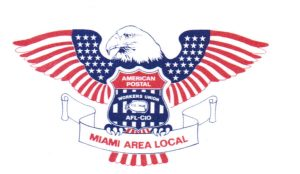 American Postal Workers Union Miami Area Local chapter logo